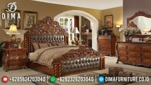 Kamar Set Mewah Natural Jati Perhutani Luxury Deluxe Room New Years Sale SK-0372