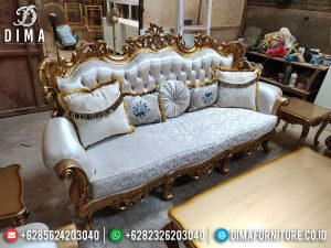 Loveseat Sofa Tamu Mewah 3 Dudukan Ukiran Jepara Luxury Best Quality Product SK-0526