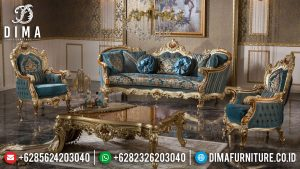 Luxury Set Sofa Tamu Mewah Jepara Golden Art Deco Superior Living Room Style SK-383