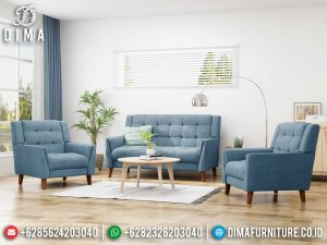 Sofa Tamu Kayu Jati Minimalis Classic Natural Retro Best Seller SK-0474