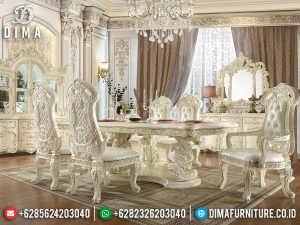 Great Meja Makan Mewah Raja Imperial Rome Design Luxury Carving SK-0565