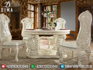 New Model Meja Makan Klasik Mewah Luxury Kerajaan Classic Kingdom Empire SK-0570