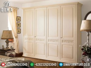 Luxury Lemari Pakaian Minimalis Pintu 4 Best Seller And High Quality Product SK-0591