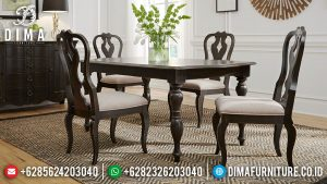 Meja Makan Minimalis Jepara Classic Natural Design Great Sale SK-0584